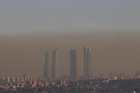 Madrid prevé alta contaminación y pide usar el transporte público ... 7be200df596