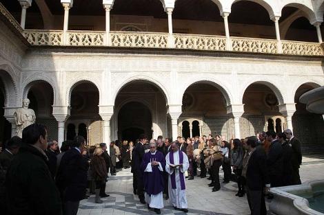 Funeral en la Casa de Pilatos por Luis Medina y Fernández de Córdoba. | Fernando Ruso