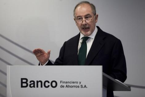 El ahora presidente de Caja Madrid, Rodrigo Rato. | R. Cárdenas