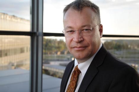Stephen Elop. | Nokia.