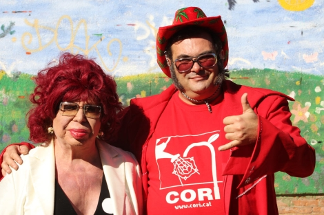 Carmen de Mairena se presentó a las autonómicas con la 'Cori'.   Domènec Umbert