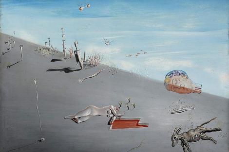 Imagen del estudio de Salvador Dalí, 'La miel es más dulce que la sangre'. | Christies