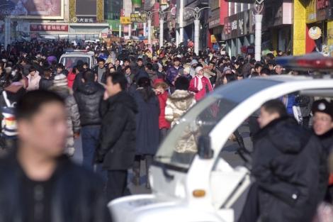 Calle del centro de Qingdao, provincia china de Shandong | Wu Hong