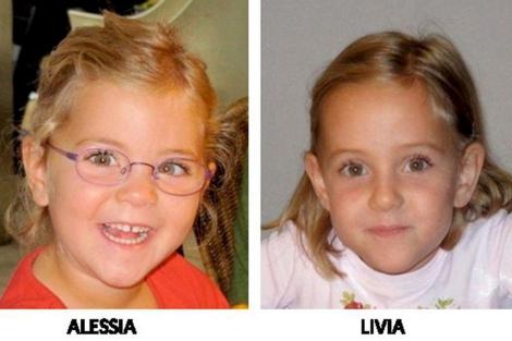 Las dos hermanas desaparecidas, Alessia y Livia.   Efe
