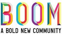 'Boom, una audaz comunidad nueva'.