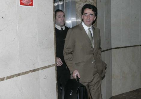 Calatrava a su llegada a los juzgados. | Jordi Avellà