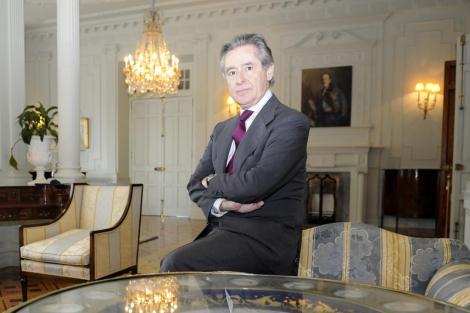 Miguel Blesa, ex presidente de Caja madrid, en los cursos de verano de la UIMP en 2009. | Pedro Puente