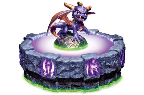 'Portal de poder' con una figura de Spyro.
