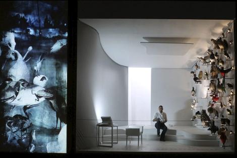 Imagen de los ensayos de 'La página en blanco'. | Teatro Real