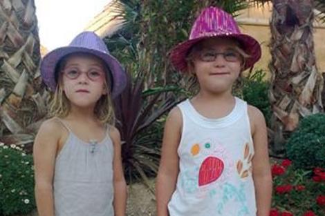 Alessia y Livia. | AP