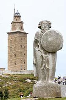 Torre de Hércules. | Efe