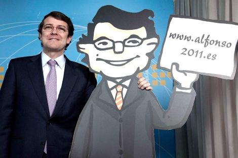 Presentación de la página web del candidato popular a la Alcaldía de Salamanca. | Ical