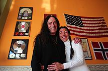 Hensley y su esposa. | E.Caparrós