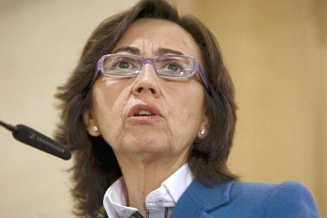 La ministra Rosa Aguilar, durante su discurso en Nairobi. | Efe.