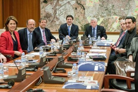 Reunión de la Ejecutiva de la FEMP en Vitoria. | Mitxi