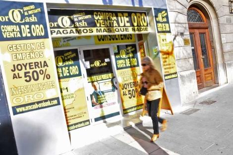 0996d6ba3305 Una de las 70 tiendas que hay en Palma de Mallorca.