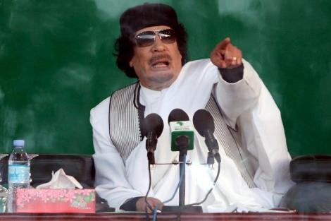 El líder libio Muammar Gadafi. | ELMUNDO.es