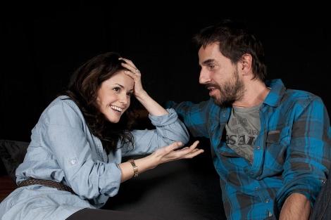 Santi Millán y Marta Torné.