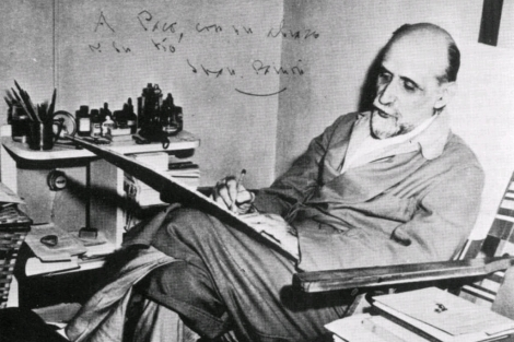 Juan Ramón Jiménez, en una imagen de archivo de 1955.