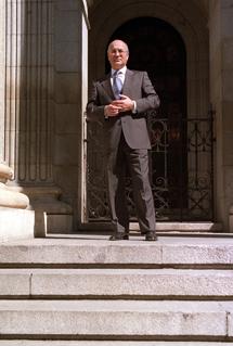 El ex presidente de Amadeus, José Antonio Tazón.   Pedro Carrero