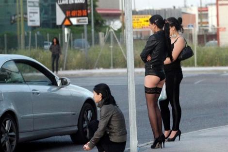 Prostitutas en la colonia Marconi. (Sinova)