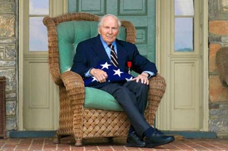 El veterano fallecido. | Frankbuckles.org