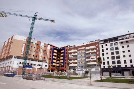 Bloques de viviendas en construcción. | EM