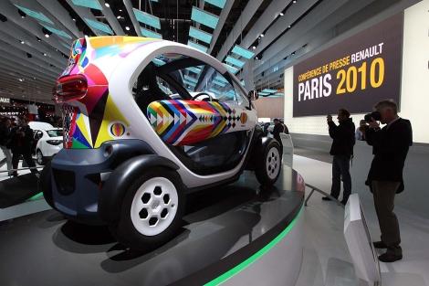 El modelo definitivo del Twizy que se presentó en París. | Ical