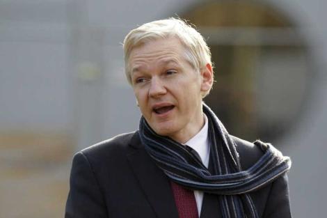 El fundador de Wikileaks, Julian Assange, el pasado mes de febrero. | Kerim Okten / Efe