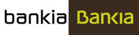 A la derecha, el logo del banco español. | ELMUNDO.es