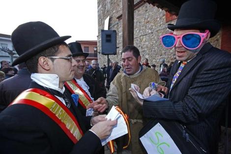 El Carnaval de Llamas de la Rivera ha sido declarado Fiesta de Interés Turístico Regional
