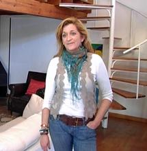Cristina Garrido, directora de la empresa 'Estancias con Arte'. | I. G. N.