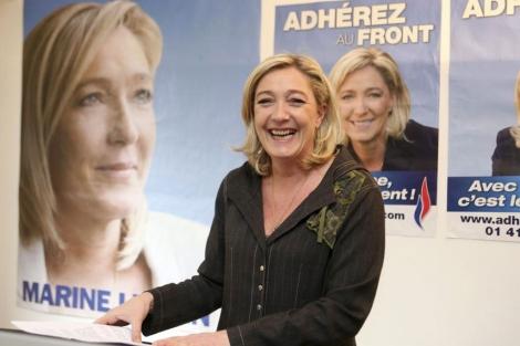 La candidata ultraderechista, Marine Le Pen.   Efe