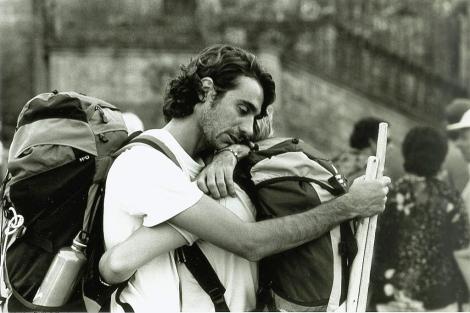 La obra de Jacobo Remuñán permanecerá en Santiago hasta el 3 de abril.