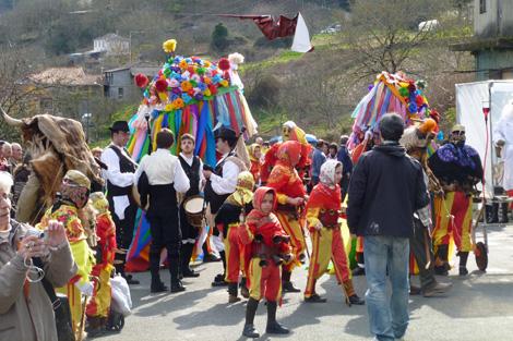 El carnaval de Chantada, el más ancestral de Lugo. | S.P.