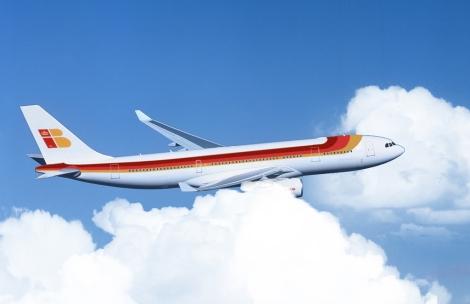 Fotomontaje del A330-300. | Iberia