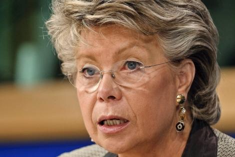 La Comisaria Viviane Reding.   ELMUNDO