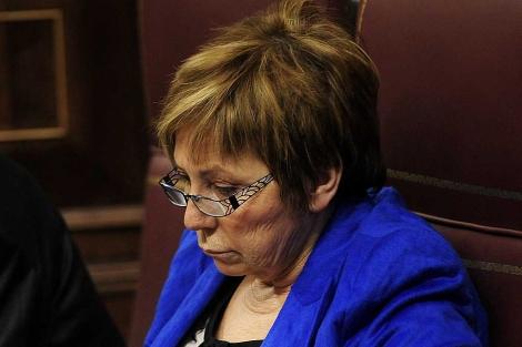 Celia Villalobos en el Congreso. | Bernardo Díaz