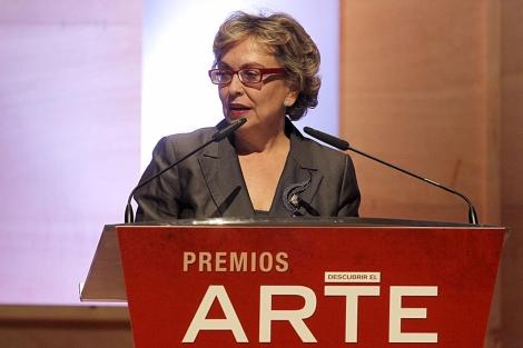 Charo Otegui, presidenta de la nueva sociedad de la Accion Cultural Española (AC/E).   José Aymá