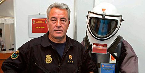 Imagen de archivo de Sánchez Manzano , jefe del TEDAX en los atentados del 11-M. | Efe