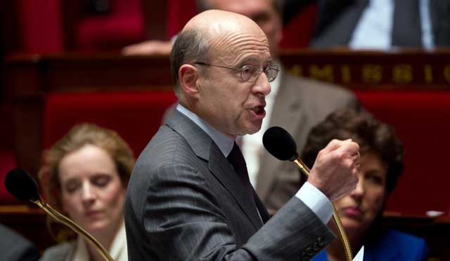 El ministro francés de Asuntos Exteriores, Alan Juppé. | Afp