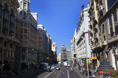 La Gran Vía Madrileña | Antonio Heredia
