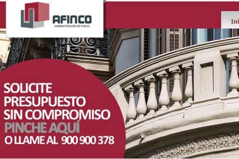 Portal de AFINCO.