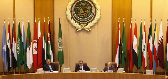 Reunión de la Liga Árabe en El Cairo.   AP