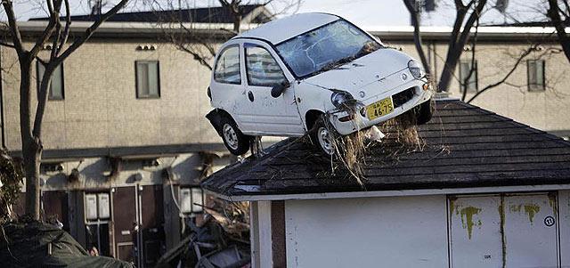 Imagen de la catástrofe en Sendai | AP