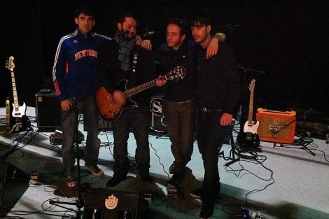 Shoefiti son Alfonso, Javi Sal, Nacho y Pablo.