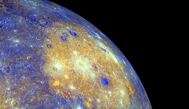 Mercurio observado por la sonda Messenger. | NASA/JHUAPL/CIW