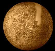 Mapa incompleto de Mercurio por la Mariner 10. | NASA,Mariner 10, USGS