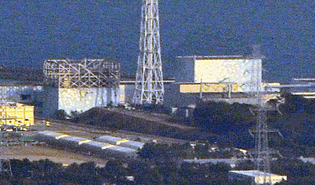 Imagen de la central nuclear de Fukushima, afectada por varias explosiones en sus reactores. | Ap