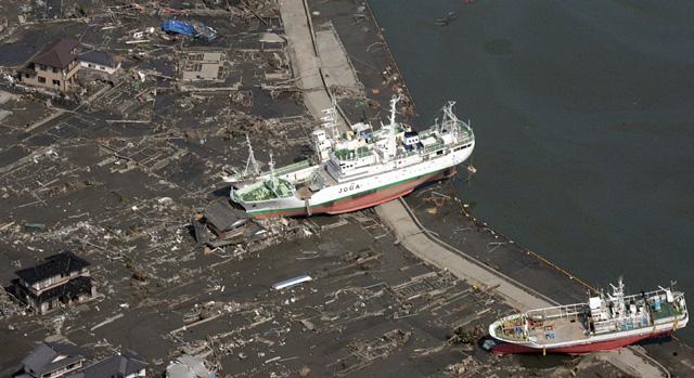 Zona afectada por el maremoto en Japón. | Afp